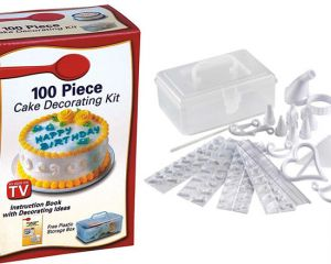 100 Piece Cake Decorating Kit Set, price, review and buy ...