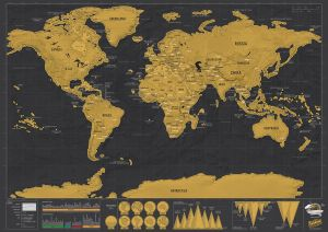 Scratch world map price review and buy in dubai abu dhabi and scratch world map price review and buy in dubai abu dhabi and rest of united arab emirates souq gumiabroncs Gallery