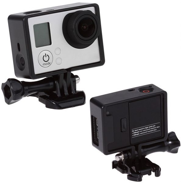 Souq | Standard Frame Mount Housing with Mounting Base for GoPro ...