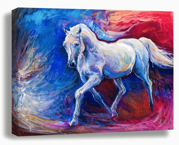 art on canvas painting horse price review and buy in