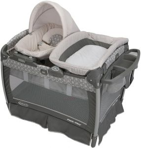 Graco Pack  n Play Travel Cot with Nuzzle Nest Sway Baby Play Yard -  1896392 07e2ffb02d