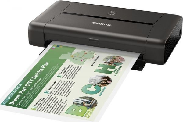 canon pixma ip110 wireless office mobile printer black souq uae