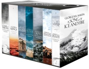 A Song of Ice and Fire - Premium Limited Edition (Set of 7 Books) (English)