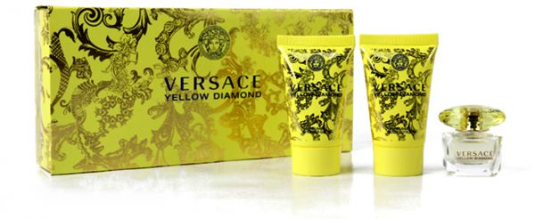 Versace Yellow Diamond 3 Pcs Mini Gift Set For Women, price ...
