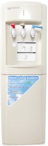 Hitachi Freestanding 3 Taps Water Dispenser, White HWD1100