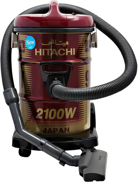 Hitachi 2100 Watts Can Type Y Series Vacuum Cleaner Red CV960Y24CBSWR