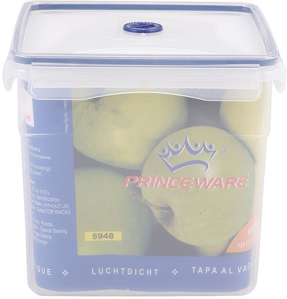 Prince Plastics Blue Click N Seal Food Containers 5948 Price Review And In Dubai Abu Dhabi Rest Of United Arab Emirates Souq