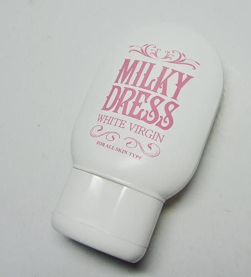 Milky dress the white 200g to lbs