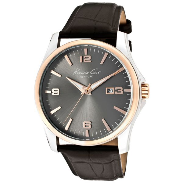 on watches buy watches online at best price in dubai abu kenneth cole new york for men charcoal dial leather band watch kc1868