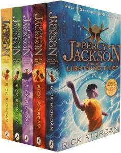 Who is the author of the percy jackson books