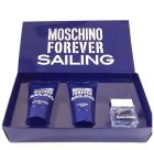 MOSCHINO FOREVER SAILING TRAVEL GIFT SET FOR MEN (Fragrance Gift Set)