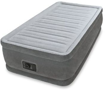Intex Dura Beam Comfort Plush Elevated Air Bed Single