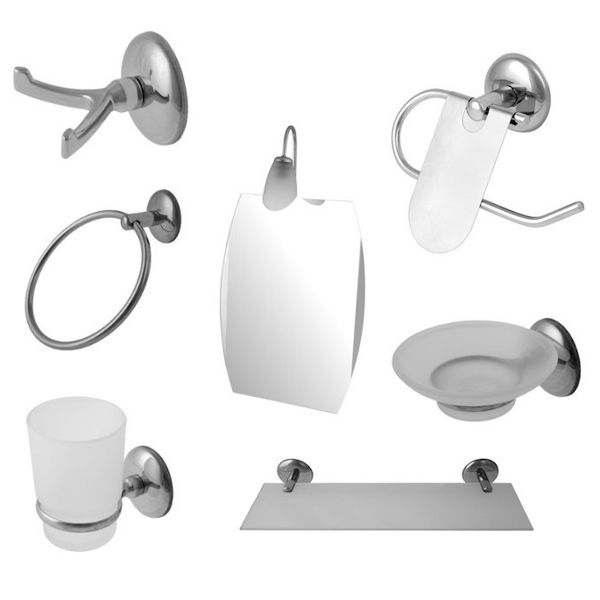 Dibanyo no 1 6 mirror bath set price review and buy in for Bathroom accessories uae