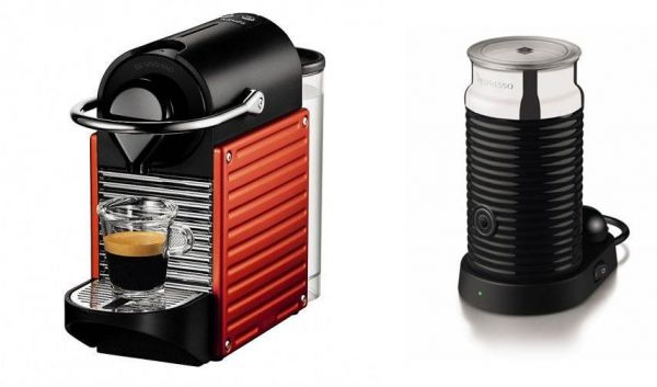 souq nespresso pixie coffee machine electric red c60. Black Bedroom Furniture Sets. Home Design Ideas