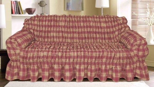 Knightsbridge Fantasy Canvas Printed Sofa Cover 1 seater price