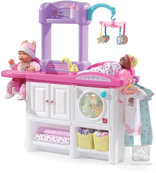 Souq Step2 Love And Care Deluxe Nursery White And Pink