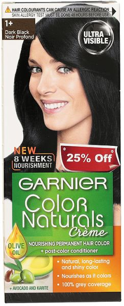 Garnier Color Naturals 1 Natural Black Men Hair