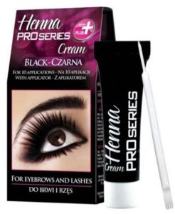 VERONA PRO SERIES HENNA CREAM FOR EYEBRWS & LASHES TINT - BLACK