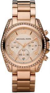 4b831368d915 Michael Kors Women s Rose Gold Dial Stainles Steel Band Watch - MK5263