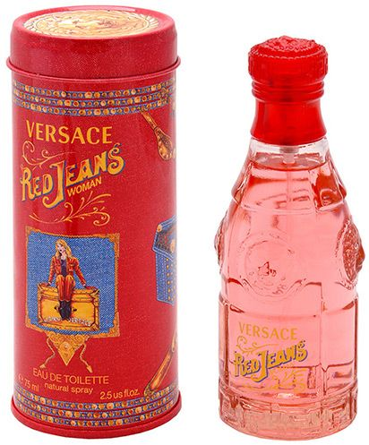 Red Jeans by Versace for Women - Eau de Toilette, 75ml, price ...
