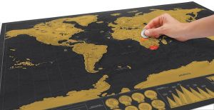 Deluxe world scratch map price review and buy in dubai abu deluxe world scratch map price review and buy in dubai abu dhabi and rest of united arab emirates souq gumiabroncs Gallery