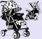 SeeBaby 2 IN 1 Multifunction Swing baby stroller Q4 (White& Black) (Baby Gear)