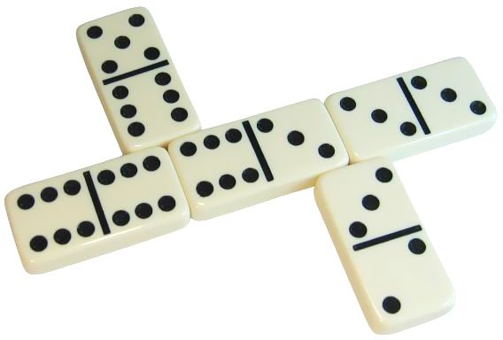 Double Six Dominoes Family Game - Set of 28 | Souq - UAE