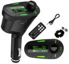 Car Kit MP3 Player Wireless FM Transmitter Modulator LCD USB SD MMC w/Remote (Car Audio and Video Accessory)