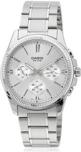 2f1d02049925 Casio for Men Chronograph MTP-1375D-7AVDF Stainless Steel Watch
