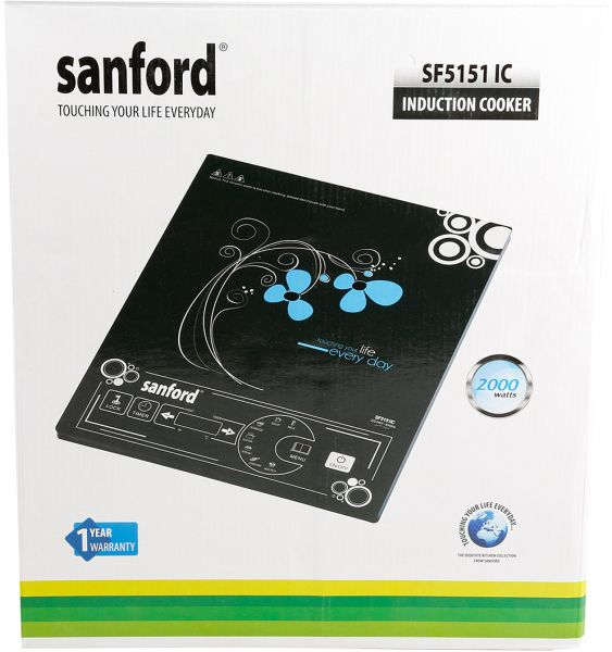 Sanford Induction Cooker With Pot, Sf5151ic-bs