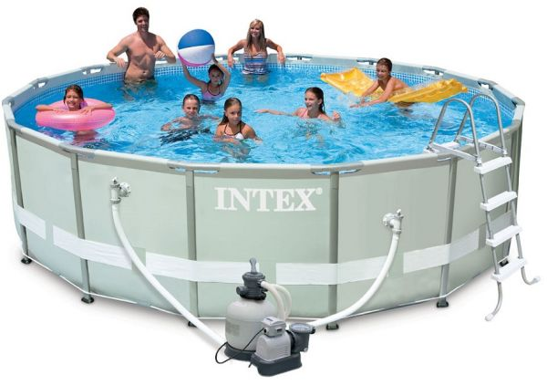 intex 549 132 cm ultra frame pool 28372 price review and buy in dubai abu dhabi and rest. Black Bedroom Furniture Sets. Home Design Ideas