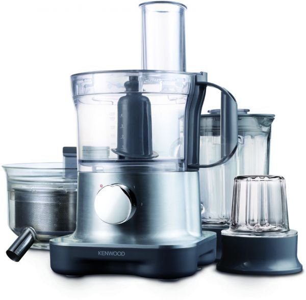 Souq | Kenwood FPM270 MultiPro Compact Food Processor 28 functions , Silver | UAE