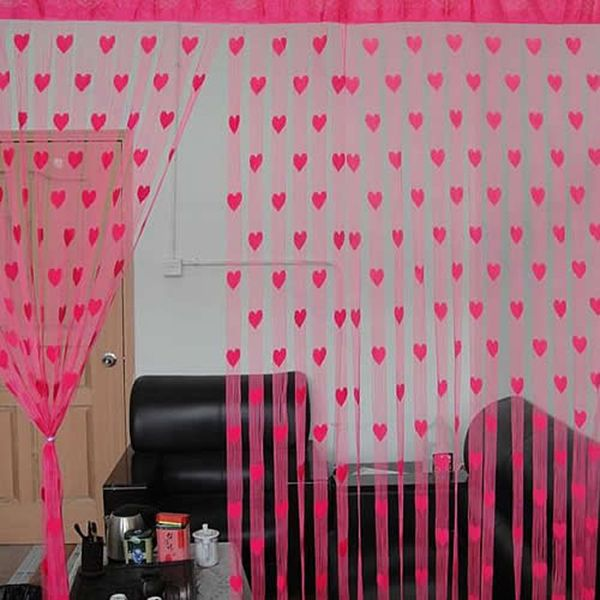 Souq | Heart Line Tassel String Door Curtain Window Room Divider ...