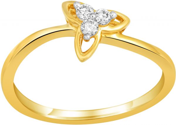 Buy SKY EVERYDAY DIAMONDS 18K Yellow Gold Diamond Ring Rings