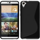 Calans HTC DESIRE 826 S Body Tpu Case Cover With Screen Protector - Black (Mobile Phone Accessories)