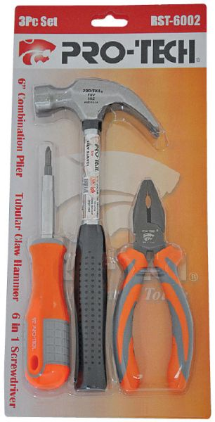 pro-tech 3pc. mix tool set (rst-6002) price, review and buy in uae ...