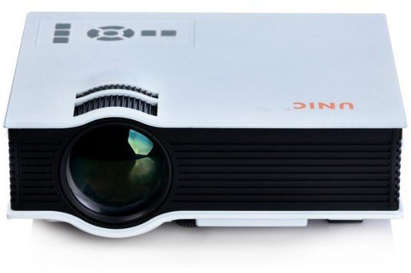 Unic uc40 mini portable projector white price review for Handheld projector price