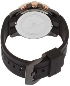 ee6f71039 ساعة يد رجالي Swiss Legend Men's 10134-BB-01-RB Delta Analog Display Swiss  Quartz Black Watch