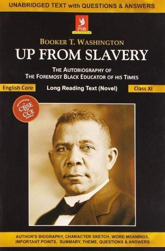 book education and industrial education of booker t washington in his autobiography up from slavery