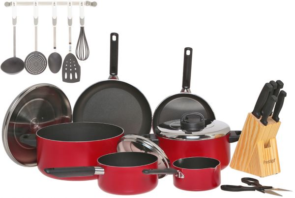 Souq Prestige Aluminum Non Stick Cookware Set Of 22