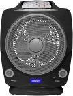 Clikon 12 Rechargeable Multifunctional Fan - Black CK2195 (Fan)