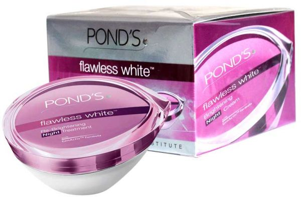 Pond's Flawless White Night Cream 50g | Souq - UAE