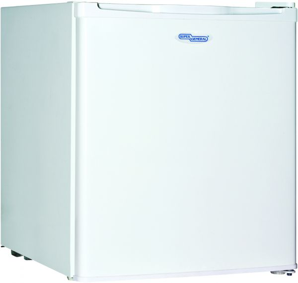 super general 60 liters single door white sgr035