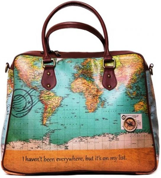 Buy kole fashion travel tote bag in world map design handbags this item is currently out of stock gumiabroncs Gallery