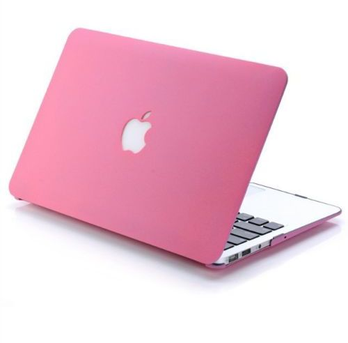 Other Matte Frosted Hard Shell Case Cover For MacBook Pro with Retina  Display 15 Inch - Hot Pink