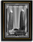 Photo of  Damac Tower-Black And White With Silver Border F08-M (A5) (Frame)