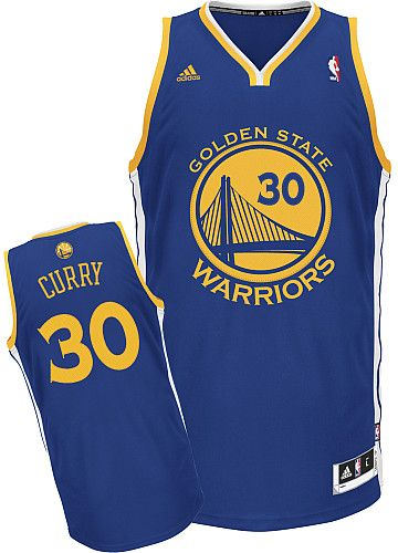 NBA Golden State Warriors Stephen Curry Swingman Road Jersey  d74f30eb5