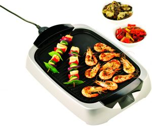 Kenwood Health Grill - Silver, HG266