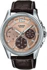 Casio Watch For Men,Leather,Chronograph,MTP-E305L-5AVDF (Watch)