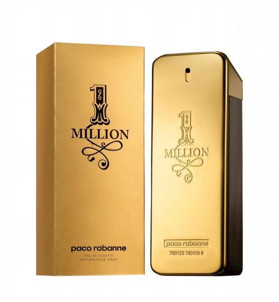1 million by paco rabanne for men eau de toilette 100ml. Black Bedroom Furniture Sets. Home Design Ideas